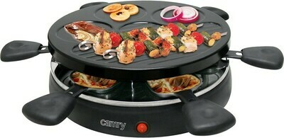 Camry CR 6606 - Raclette-Gourmet-Set für 6 Personen