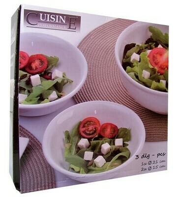 Salatschüssel (Set 3 St)