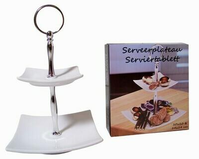 Küche Serviertablett / Servierteller / Servierschalen (doppelt)