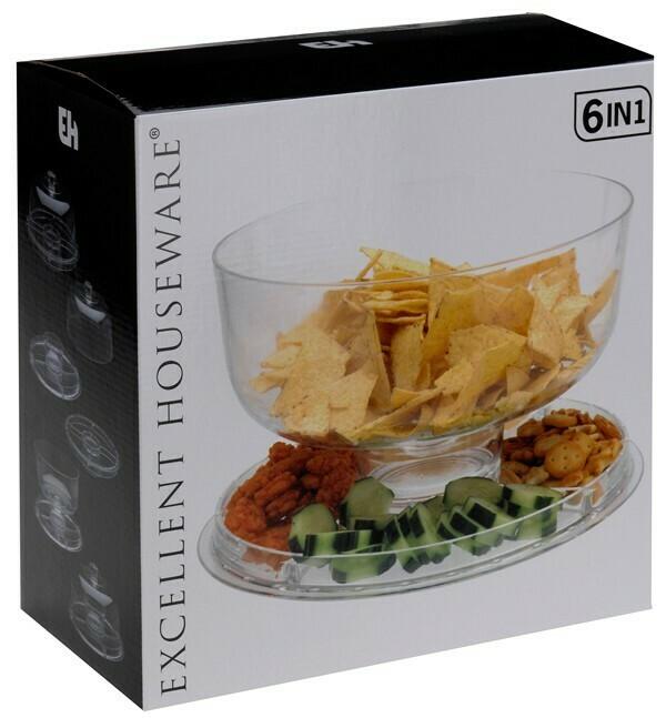 Excellent Houseware Servierschale (6-in-1)
