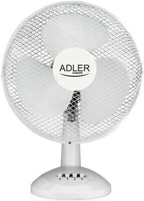 Adler AD7304 - Tischventilator weiss - 40cm