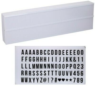 Grundig Light Box Leuchtschild - 50x15cm - 10 LED