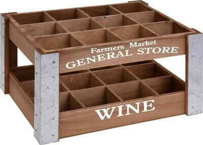 Weinkiste aus Holz