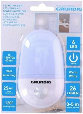 Grundig LED Lampe mit Bewegungsmelder