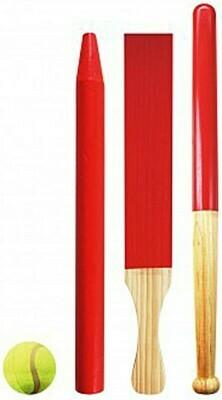 Baseball-Set - Schläger aus Holz