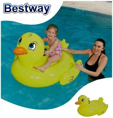 Bestway Schwimmtier Ente / Duck Rider 135x91cm