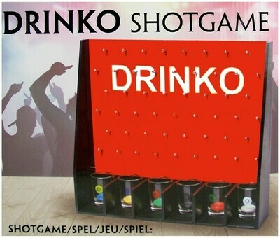 Drinko Shotgame Spiel