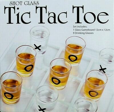 Mini Schnapsglas Trinkspiel Tic Tac Toe