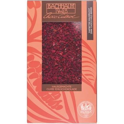 Grosspackung Bachhalm Schokolade Waldfrucht 12 x 85 g = 1,02 kg