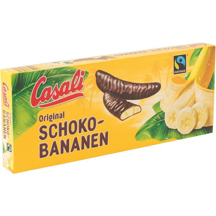 Grosspackung Casali Schoko Bananen 20 x 24 Stk. 300 g = 6 kg