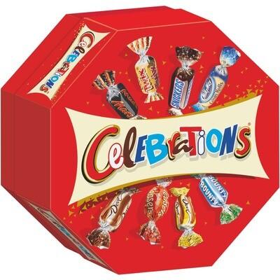 Grosspackung Celebrations 16 x 186 g = 2,976 kg