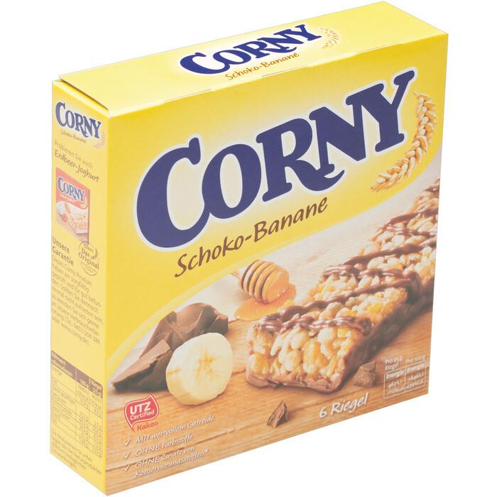 Grosspackung Corny Riegel Schoko Banane10 x (6 x 25 g) = 1,5 kg