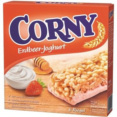 Grosspackung Corny Riegel Erdbeer Joghurt 10 x (6 x 25 g) = 1,5 kg