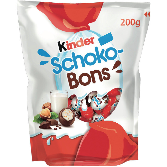 Grosspackung Ferrero Kinder Schokobons 18 x 200 g = 3,6 kg