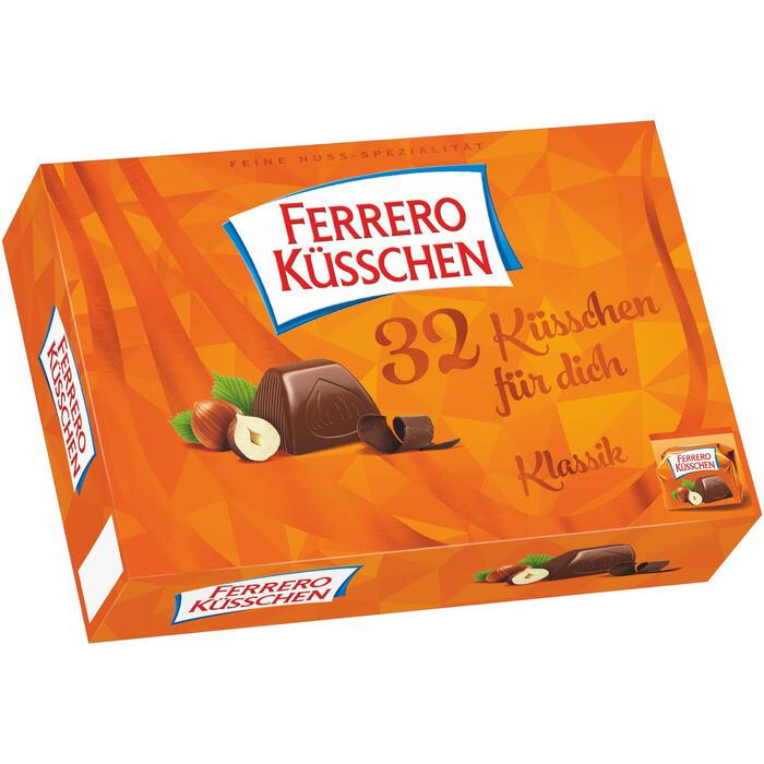 Grosspackung Ferrero Küsschen 8 x 32 Stk. 284 g = 2,272 kg