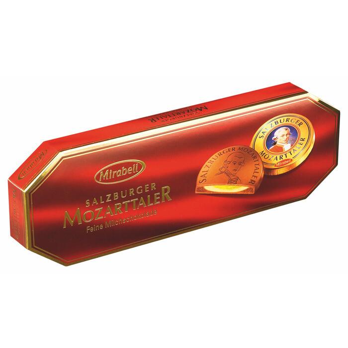 Grosspackung Mirabell Mozarttaler Geschenkpackung 5er 12 x 100 g = 1,2 kg