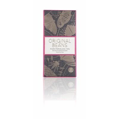 Grosspackung Original Beans Bio Schokolade Piura Porcelana 75 % 13 x 70 g = 0,91 kg