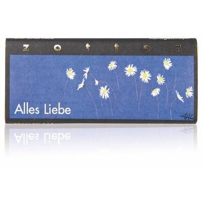 Grosspackung Zotter Bio Schokolade Alles Liebe 10 x 70g = 0,7 kg