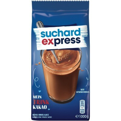 Grosspackung Suchard Express Kakao-Mischung 10 x 1 kg = 10 kg