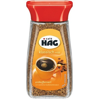 Grosspackung Kaffee Cafe Hag Cafe Hag löslich 6 x 100g = 0,6 kg