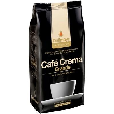 Grosspackung Kaffee Dallmayr Grande Bohne Caffe Crema 8 x1 kg = 8 kg