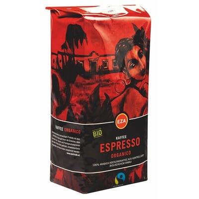 Grosspackung Kaffee EZA Bio Organico Espresso 6 x 1 kg = 6 kg