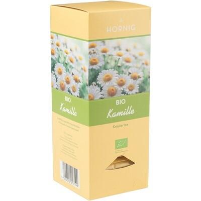 Grosspackung Tee Hornig Bio Triangle Kamille Tassenportionen 4 x 25er 37,5 g = 0,15 kg