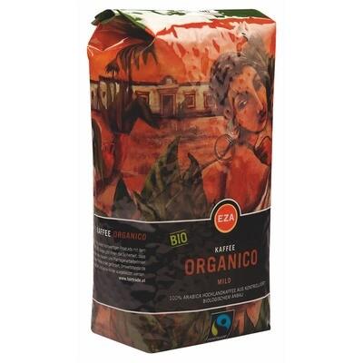 Grosspackung Kaffee EZA Bio Organico Bohne 6 x 1 kg = 6 kg