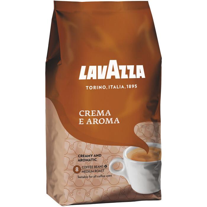 Grosspackung Kaffee Lavazza Crema e Aroma Bohne 6 x 1 kg = 6 kg