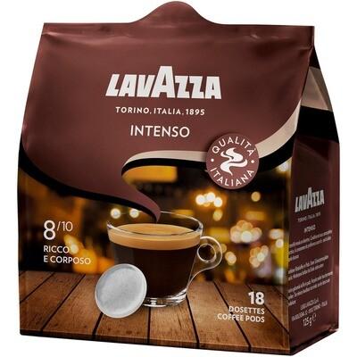 Grosspackung Lavazza Intenso Kaffee-Pads 18er 10 x 125g = 1,25 kg