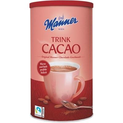 Grosspackung Manner Trink Cacao 12 x 450 g = 5,4 kg