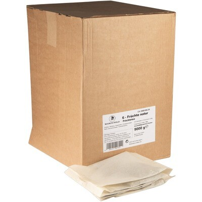 Grosspackung Marco Polo Filterkette 6 Früchtetee 9 kg