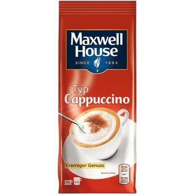 Grosspackung Kaffee Maxwell House Cappuccino 10 x 400 g = 4 kg
