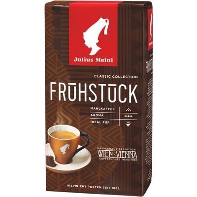 Grosspackung Julius Meinl Kaffee Meinl Genuss Frühstück Gemahlen 12 x 500 g = 6 kg
