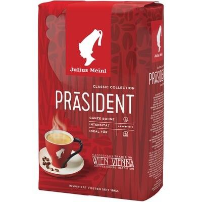 Grosspackung Julius Meinl Kaffee Präsident Bohne 12 x 500g= 6 kg