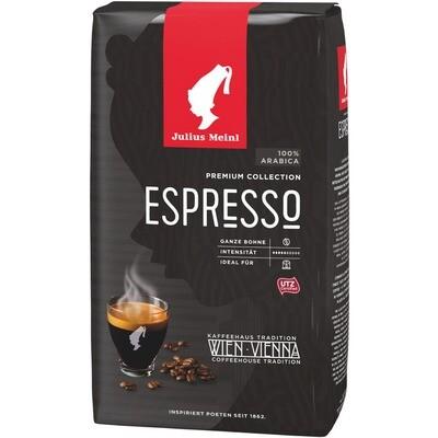 Grosspackung Julius Meinl Kaffee Premium Espresso Bohne 6 x 1kg = 6 kg