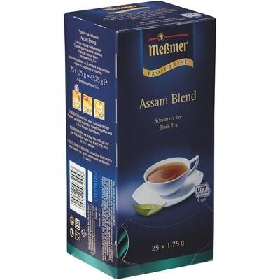 Grosspackung Messmer Tee Assam Blend 25er 12 x 43,75g = 0,525 kg