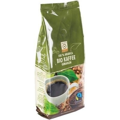 Grosspackung natürlich für uns Bio Kaffee gemahlen 16 x 500 g = 8 kg
