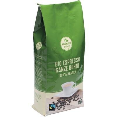 Grosspackung natürlich für uns Bio Kaffee Bohne 8 x 1 kg = 8 kg