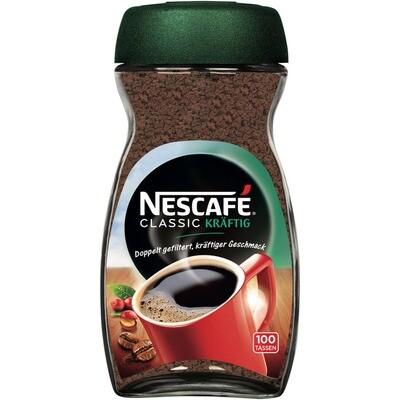 Grosspackung Nescafe Classic Kräftig 6 x 200g = 1,2 kg