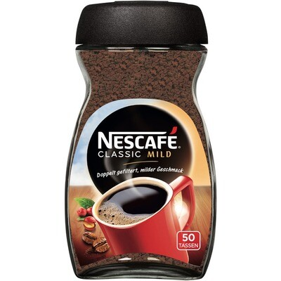 Grosspackung Nescafe Kaffee Classic Mild 8 x 100 g = 0,8 kg
