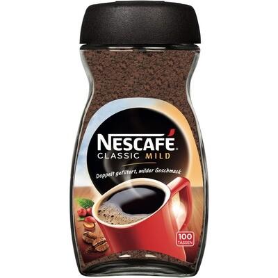 Grosspackung Nescafe Kaffee Classic Mild 6 x 200 g = 1,2 kg