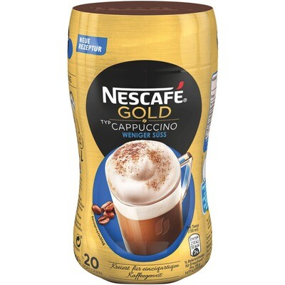 Grosspackung Nescafe Gold Cappuccino wenig süss 10 x 250 g = 2,5 kg