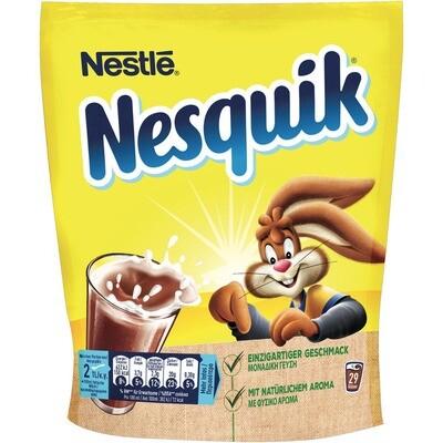 Grosspackung Nestle Nesquik Nachfüllbeutel 14 x 400g = 5,6 kg