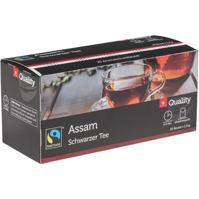 Grosspackung Quality Tee Assam Tassenportionen im Aromaschutzbeutel 25er 10 x 37,5 g = 0,375 kg