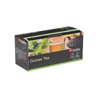 Grosspackung Quality Tee Grün Tassenportionen im Aromaschutzbeutel 25er 10 x (20 x 1,75g) = 0,35 kg