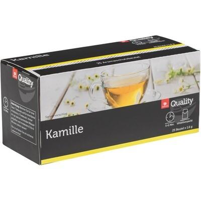 Grosspackung Quality Tee Kamille Tassenportionen im Aromaschutzbeutel 25er 10 x 40g = 0,4 kg
