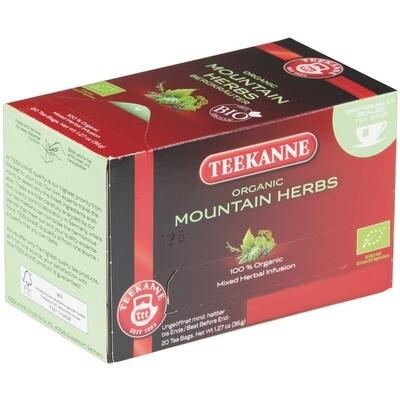 Grosspackung Teekanne Bergkräuter aus BIO-Ernte 10 x 20er = 200 Beutel