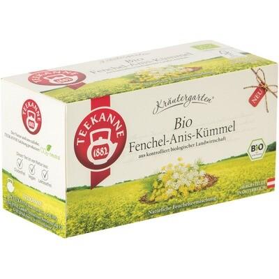 Grosspackung Teekanne Bio Kräutergarten 12 x 20er = 240 Beutel