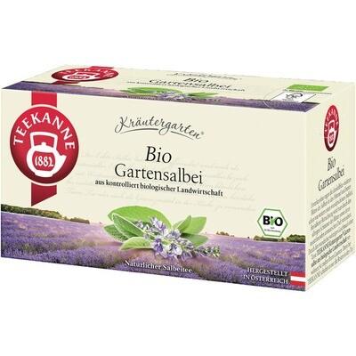 Grosspackung Teekanne Bio Kräutergarten, Gartensalbei 12 x 20er = 240 Beutel